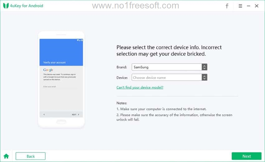 PassFab Android Unlocker One Click Download Link