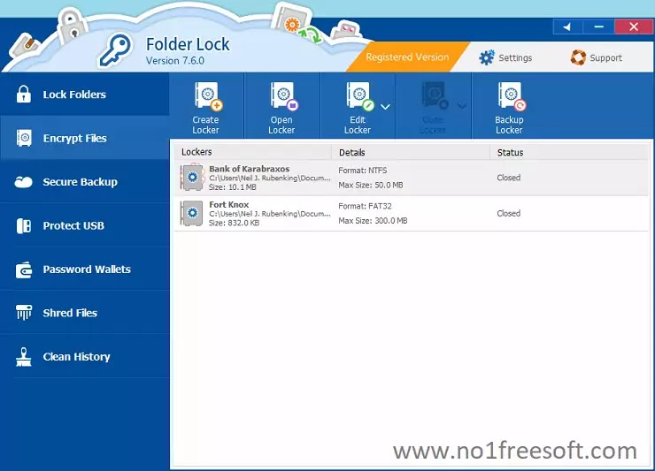 Folder Lock 7 Download