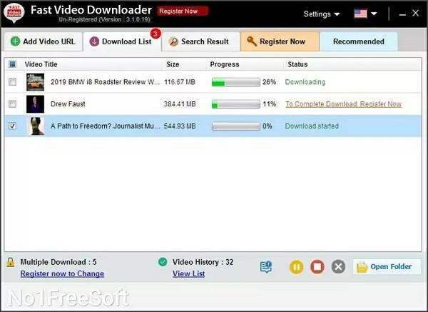 Download Fast Video Downloader 4